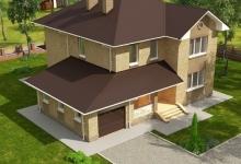 Дом из блоков A-233