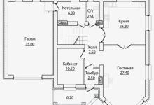 Дом из блоков A-186