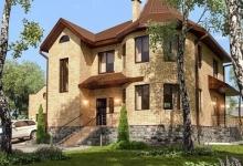 Дом из блоков A-218