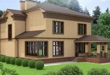 Дом из блоков A-305