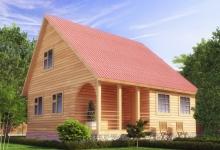 Дом из бруса Надежда