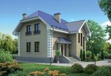 Дом из блоков Благослав