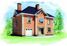 Дом из блоков Braer