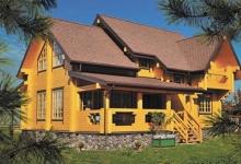 Каркасный дом Вятич