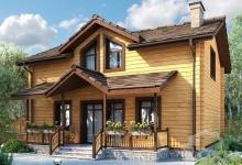 Дом из бруса КБ-2179