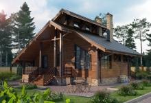Комбинированный дом Ладога