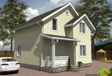Каркасный дом КД 7.8-105