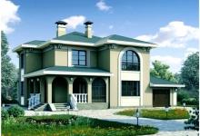 Дом из блоков Беатрикс