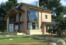 Дом из блоков 15-36
