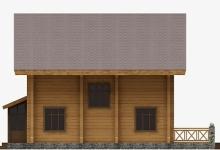 Дом из бруса W-212-1