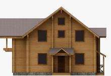 Дом из бруса W-236-1
