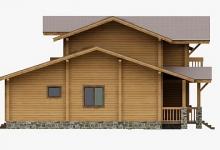Дом из бруса W-310-1