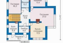 Дом из блоков 40-82