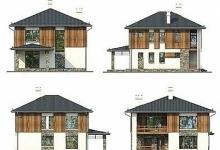 Комбинированный дом Джесс