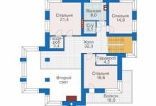 Дом из блоков 38-95