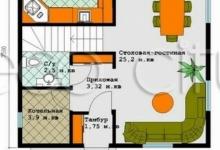 Комбинированный дом Ропша