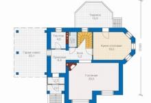 Дом из блоков 82А