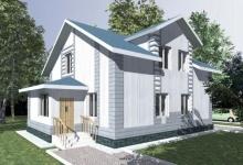 Дом из блоков Дуплекс