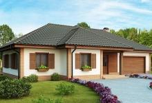 Дом из блоков Z17