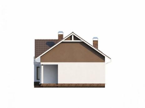Каркасный дом Z128