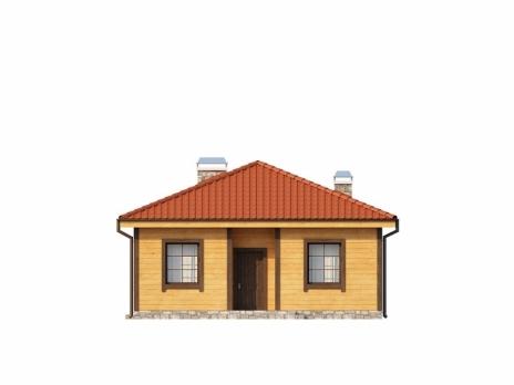 Дом из блоков Z16