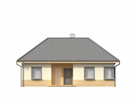 Дом из блоков Z24