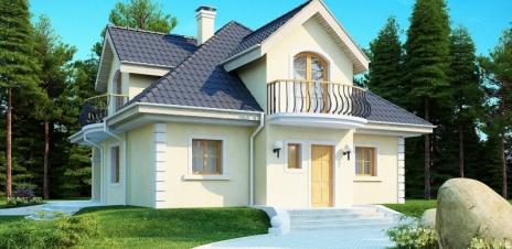 Дом из блоков Z27