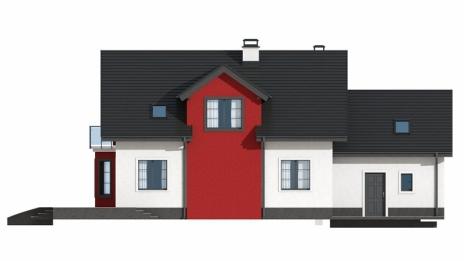 Дом из блоков Z28GL