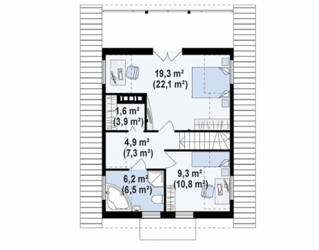 Дом из блоков Z30