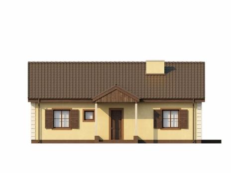 Дом из блоков Z8