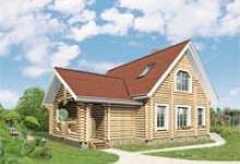 Деревянный дом D-141-1D