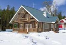 Деревянный дом H-140-1D