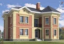 Дом из блоков L-301-1K