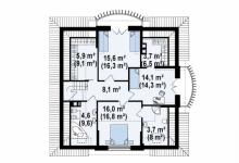 Каркасный дом Z18