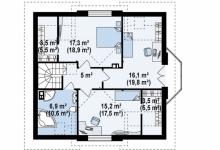 Дом из блоков Z28