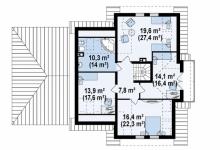 Дом из блоков Z31