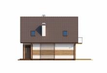 Дом из блоков Z45