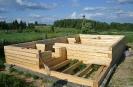Строительство бани (слайдшоу)